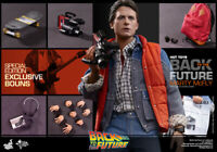 Hot Toys 1/6 Back to the Future MMS257B Marty Mcfly Limited Edition Figure