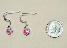 New BRIGHTON French wire MINI HAVANA HEARTS custom earrings !  FREE SHIPPING !