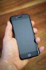 Apple iPhone 7 - 128gb-Negro (sin bloqueo SIM) con tanques lámina de protección y funda