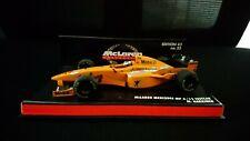 Minichamps 1/43 Mika Hakkinen Mclaren Mercedes MP4/12 1997 orange livery test