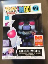 Funko Pop-Killer moth 647-Teen Titans Go! - SDCC 2018-neuf en main!