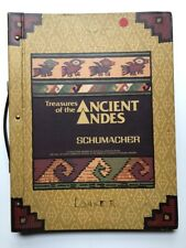 F. Schumacher Co / Large wallpaper sample book Treasures of the Ancient Andes