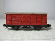 Minitrix N Hilfszug Feuerlöschwagen Btr.Nr -- DB rot (RG/AE/6L38)