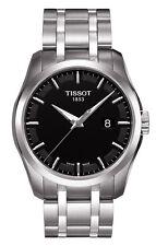 T0354101105100 Tissot Couturier Stainless Steel Black Dial Quartz Men's Watch