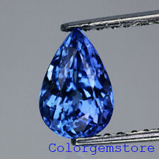 1.42CT. BEST! PEAR CUT NATURAL AAA TOP PURPLISH BLUE TANZANITE - More in VDO