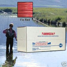 AMNESIA MEMORY FREE FISHING LINE 25 LB RED SS06425X10