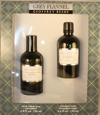 GREY FLANNEL BY GEOFFREY BEENE 2 PIECES GIFT SET FOR MEN WITH 4.0 OZ EDT SPRAY