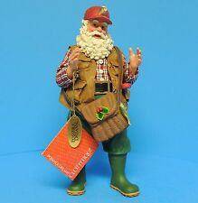 Possible Dreams 2007 Clothtique Santa Claus Fishing It Was This Big #800679