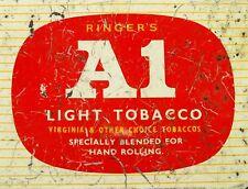 "TIN SIGN"" A1 Tobacco"" Pipe  Deco  Garage Wall Decor"