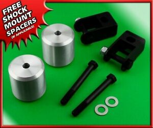 """2.5"""" Front Lift Kit w/ Shock Ext. For 2005-2020 Ford F250 F350 SuperDuty 4WD"""