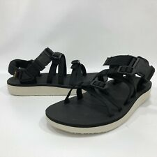 Teva Tirra Women's Strappy Adjustable Sandals Black Sz 6