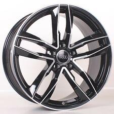 4x 18 Zoll Alufelgen Audi Q3 S4 A4 B8 8K S5 A5 8T S6 A6 4G A7 Q5 8R SQ5 Schwarz