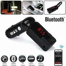 Hot Wireless Bluetooth Stereo MP3 Player FM Transmitter Dual USB Car Kit Charger