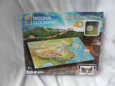 4D Puzzle National Geographic Imperial China 600 Pc New