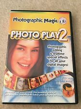 Photoplay 2 - Photograph Editing & Manipulation PC Software - NEW