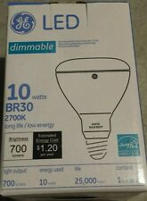 ge br30 led light bulb 2700k/ 10 watts / 700 Lumens 68160