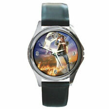 back to the future (the movie) watch (round metal wristwatch)
