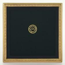 Elias 8x8 Beaded Gold Floral Frame #2075G - NEW