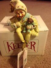 KEEPER OF THE NURSERY Nanny Baby Room Shenandoah Designs Shelf Sitter
