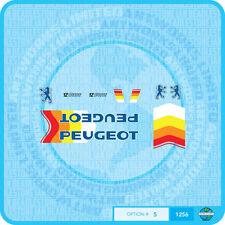 Peugeot Vitesses 12 Speeds Bicycle Decals - Transfers - Stickers - Set 5
