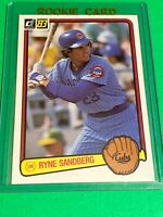 🔥 1983 DONRUSS Baseball Card Set #277 🔥 CHICAGO CUBS🔥 Ryne Sandberg ROOKIE RC