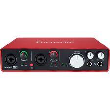 FACTORY B-STOCK - FOCUSRITE SCARLETT 6i6 (2ND GEN) USB AUDIO INTERFACE Auth DLR