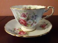 Collectible Fine Bone China Cup & Saucer – Paragon by Appointment (vintage)