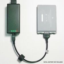 External Laptop Battery Charger for Apple PowerBook G4 15in, A1045, A1078, A1148