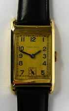 Armbanduhr Uhr 14 ct. Gold HUBER URANIA 585 Gold