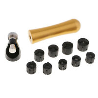 KIT-0035 Bracelet Mandrel Holder And Oval Wood Mandrel Kit
