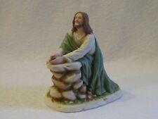 Home Interiors Greatest Stories Ever Told In The Garden Jesus Figurine
