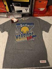 Golden State Warriors Mitchell & Ness Tshirt Sz Large