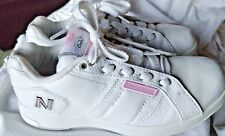 New Balance Women's  8 White Leather CT 620 Classic Shoes Pre-owned Mint Cond