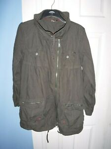 ROXY WOMENS BROWN COAT SIZE MEDIUM CHEST 42 INCHES