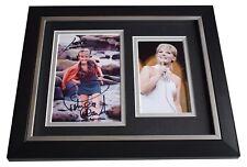 Petula Clark SIGNED 10x8 FRAMED Photo Autograph Display Music AFTAL COA