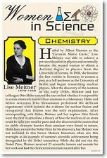 Lise Meitner - NEW Women in Science Chemistry - Classroom POSTER