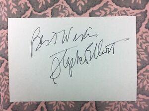 Stephen Elliott - Beverly Hills Cop - Death Wish - Arthur - Autographed 1976