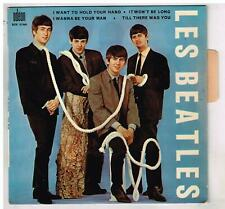 """Les BEATLES   I want to hold your hand   avec languette     7""""  45 tours EP"""