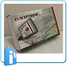 MODEM ISDN RDSI PCMCIA Conceptronic VINTAGE