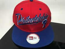 Philadelphia Pirates  Philies Snapback Adjustable New Era Hat Red Blue White