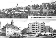 AK, Annaberg-Buchholz, 4 Abb., u.a. Neubaugebiet, 1983