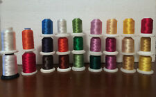 Robison-Anton Rayon and other Brands Embroidery Thread 25 Spoo 0000298B ls