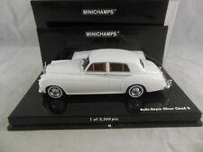Minichamps 436 134900 Rolls Royce Silver Cloud II in White  Scale 1:43 Ltd Ed.
