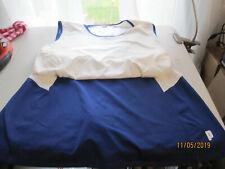 2 Piece Prince Tennis Top & Skirt Skort Matching Top Sz L and Skirt Sz M