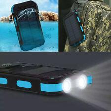 Waterproof 300000mAh Dual USB Portable Solar Battery Charger Solar Power Bank KB
