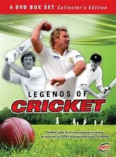 - ESPN Legends Of Cricket (DVD, 6-Disc Set) NEW SEALED [REGION 4 [NOW $35.75]