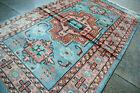 Vintage Authentic floral Pattern Silk Pakistani Carpet,Hand Knotted Oriental Rug