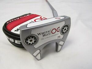 "2021 Odyssey White Hot OG 7S 35"" Putter With Headcover Stroke Lab Shaft Odyssey"