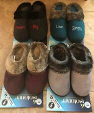 ISOTONER WOMENS Slippers Size M 7.5-8 OR XL 9.5-10 NEW W/TAG