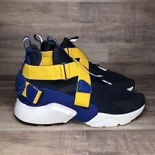 Nike Huarache City Big Kids 6Y Obsidian Yellow AJ6662-405